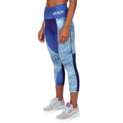 Venum Dune Leggings Crops - Dark Purple/Light Latigo Bay