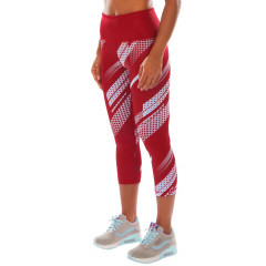 Venum Rapid Leggings Crops - Coral/Light Cyan