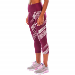 Venum Rapid Leggings Crops - Plum