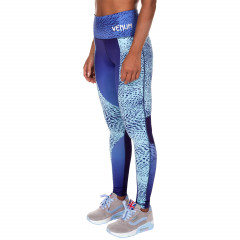 Venum Dune Leggings - Dark Purple/Light Latigo Bay