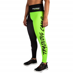 Venum Training Camp Legging - Black/Neo Yellow