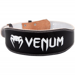 Venum Hyperlift Leather Lifting Belt - Black