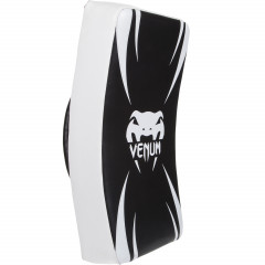 "Venum ""Absolute"" Long Kick Shield - Black/Ice"