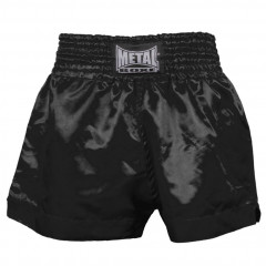 Metal Boxe Boxing Shorts Thai Boxing - Black