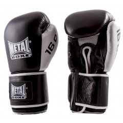 Metal Boxe gloves  Super Sparring– Black/White