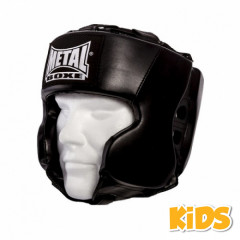 Metal Boxe Helmet child - Black