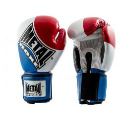 Gant Compétition Metal Boxe France - Bleu / Blanc / Rouge