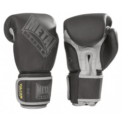 Metal Boxe Matte black hard foam boxing gloves