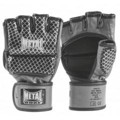 Gants de Combat Libre Metal Boxe - MMA - Noir Cage
