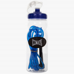 Metal Boxe Kit Jump Rope + Water bottle