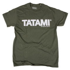 T-shirt Tatami Fightwear Essential - Vert Militaire