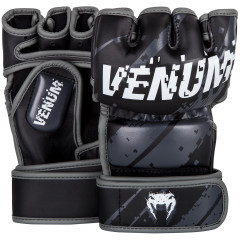 Venum Pixel MMA Gloves - Black/Grey