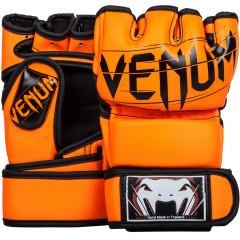 Venum Undisputed 2.0 MMA Gloves Semi Leather - Neo Orange