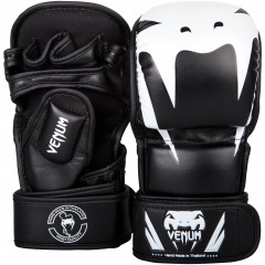 Venum Impact Sparring MMA Gloves - Black/White