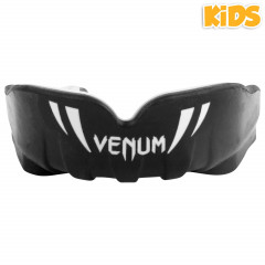 Venum Challenger Kids Mouthguard-Black/White
