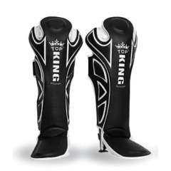 Top King Shin guards Super - Black