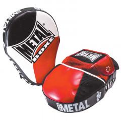 Metal Boxe  Kick Pads curved