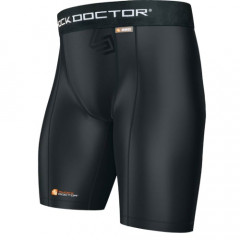 "Short Shock Doctor ""Core Compression"" for groin guards"