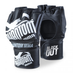 Phantom Athletics  Gloves for MMA Blackout PU