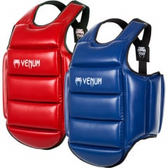 Venum Karate Body Protector - Blue/Red