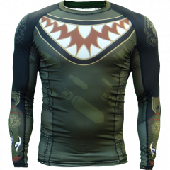 Rashguard Hardcore Wear Bomb Shark