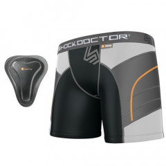 "Shock doctor Women Short ""Double Compression""  + pelvic protector"