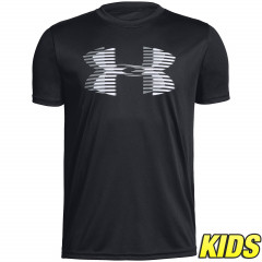 T-shirt Enfant Under Armour Tech Big Logo - Noir