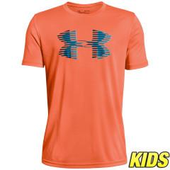 T-shirt Enfant Under Armour Tech Big Logo - Orange