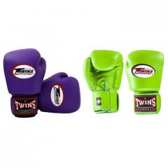 Gants de boxe Twins - Violet et Vert