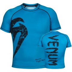 Venum Original Giant Rashguard - Short Sleeves - Blue