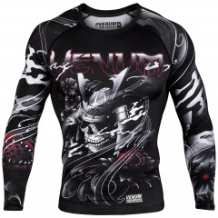 Venum Samurai Skull Rashguard - Long Sleeves - Black