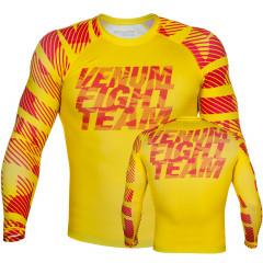 Venum Speed Camo Urban Rashguard - Long sleeves - Yellow