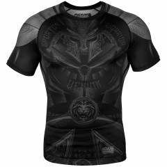 Venum Gladiator 3.0 Rashguard - Short Sleeves - Black/Black