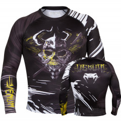 Venum Viking Rashguard Long sleeves - Black