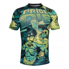 Rashguard Pride or Die Comix - Manches courtes