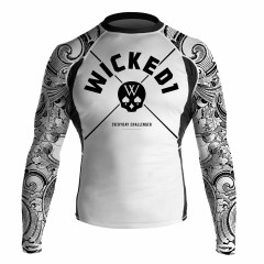 Rashguard Wicked One Skull