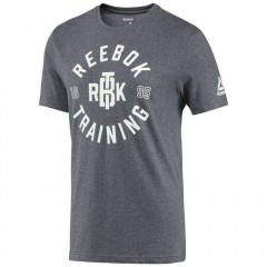 T-shirt Reebok Training - Gris foncé