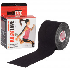 Bande Kinésiologie Rocktape™ 5cm X 5m - Noir