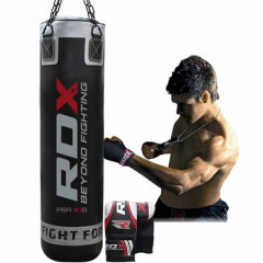 Punching bag RDX Sports Black – 150 cm – full