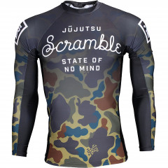 Rashguard Scramble State of No Mind - Camo
