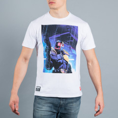 T-shirt Scramble x Judge Dredd - Dredd Rain