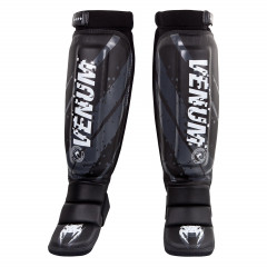 Venum Pixel MMA Shinguards - Black/Grey