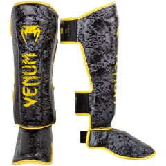 Venum Tramo Shinguards - Limited Edition - Black/Yellow