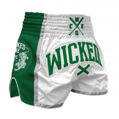 Short Muay thai Wicked One Green