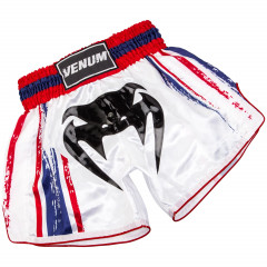 Venum Bangkok Spirit Muay Thai Short - White