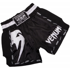 Venum Giant Muay Thai Shorts - Black/White