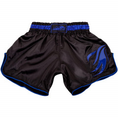 Short de Muay Thai Dragon Bleu - Black