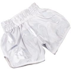 Venum Bangkok Inferno Muay Thai Shorts-White/White