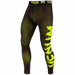 Venum Giant Spats - Black/Neo Yellow