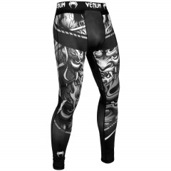 Venum Devil Spats - White/Black